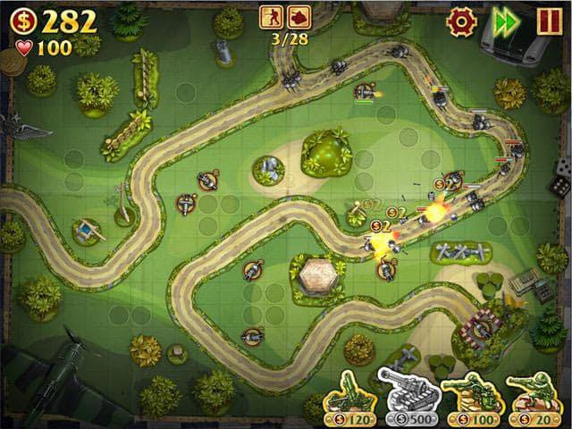 Toy Defense Free PC Game Screenshot