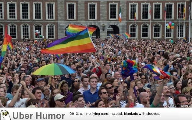 Pro Gay Marriage Rally In Ireland Ireland Just Became The First