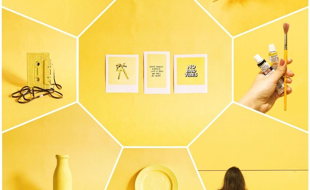 Gambar Aesthetic Kuning Dunia Gambar