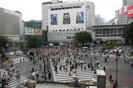 Photos of Shibuya Pedestrian Scramble, Shibuya