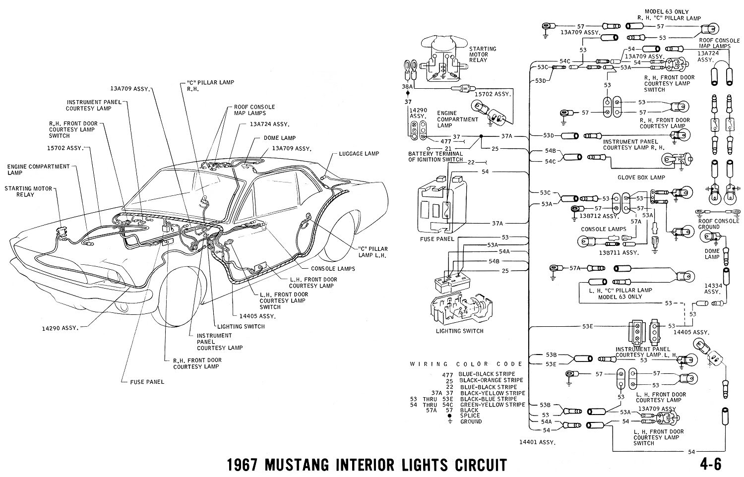 1967 Mustang Coil Wiring Diagram Wiring Diagram View A View A Zaafran It