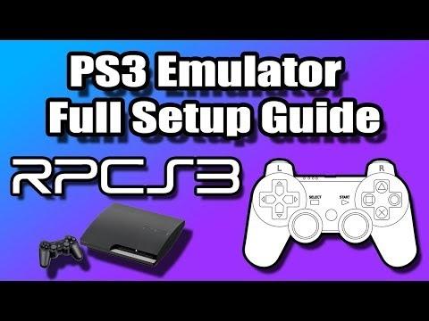 RPCS3 - PS3 Emulator Full Setup Guide For Windows | How To Raspberry