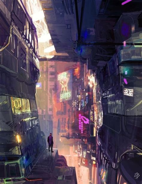 cyberpunk  fragments   hologram dystopia sources