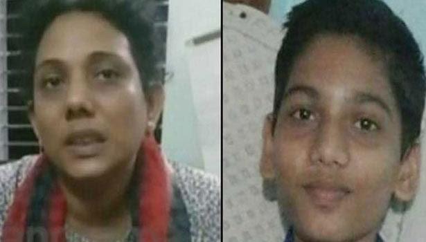 கேரளாவில் 14 வயது மகனை எரித்துக் கொன்ற தாய் கைது