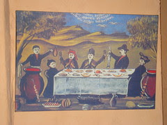 Decoration, Georgian Restaurant, Cracow