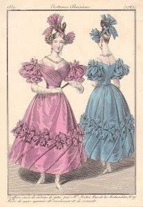 Coiffure de 1830