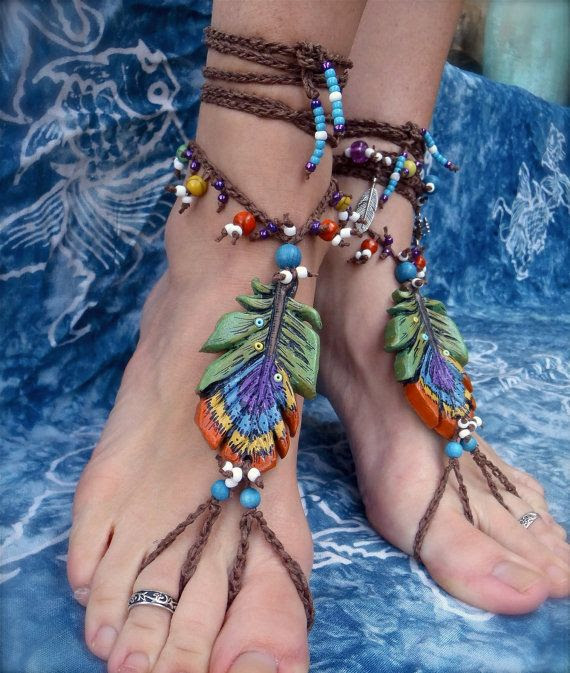 Gypsy barefoot sandals