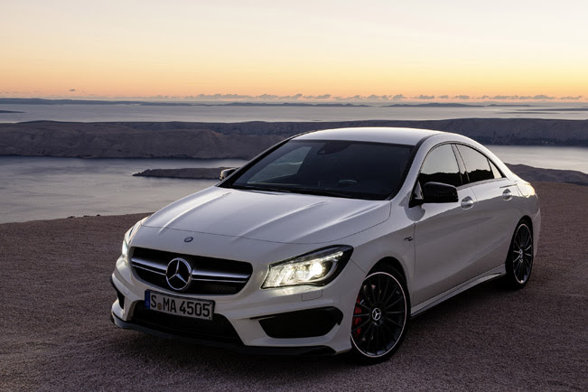 Mercedes-Benz has presented the new 2014 CLA 45 AMG at the 2013 New ...