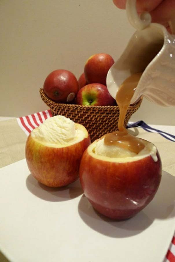 Λιχουδιές που χρησιμοποιούν άλλα τρόφιμα ως πιάτο (2)