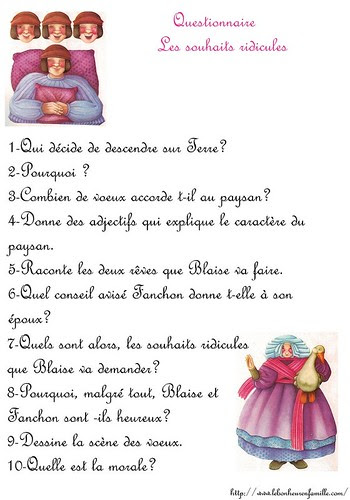 aaaquestionnaire les souhaits ridicules