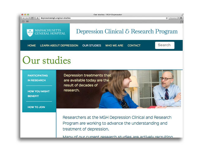 MGH Depression Clinical and Research Program (DCRP ...