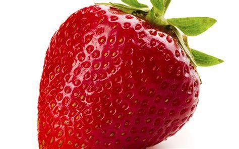 Big red strawberry   Macro HD wallpaper