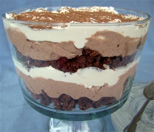 Low-Cal, Low-Fat Easy Chocolate Trifle Recipe - Food.com