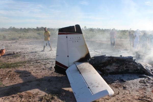 acidente aviãO 022