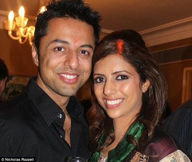 According to the prosecution, Dewani's secret gay life and the reputation of his family motivated him to order the contract killing of his new bride, Anni, 28, pictured above, during their honeymoon to South Africa