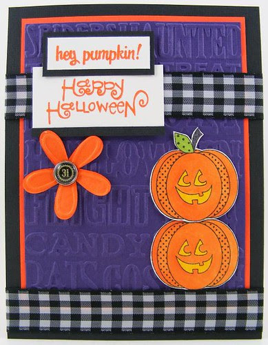 Hey Pumpkin Card