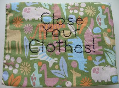 Close Your Clothes book