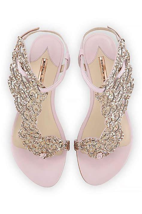 The 25  best Flat wedding sandals ideas on Pinterest