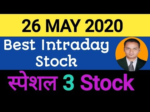 Best intraday trading stock For 26 May 2020   stock for tomorrow trading...