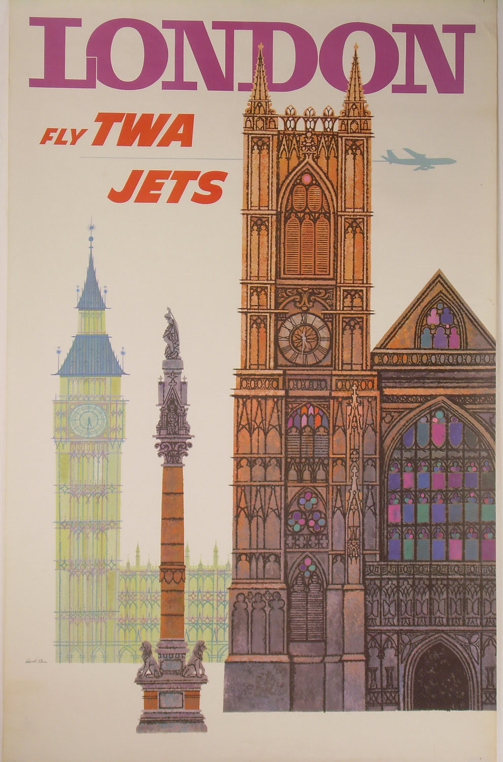 """""""Let's Go to London!"""" - Really Cool Gallery of Vintage Travel Posters Advertising Trips to ..."""