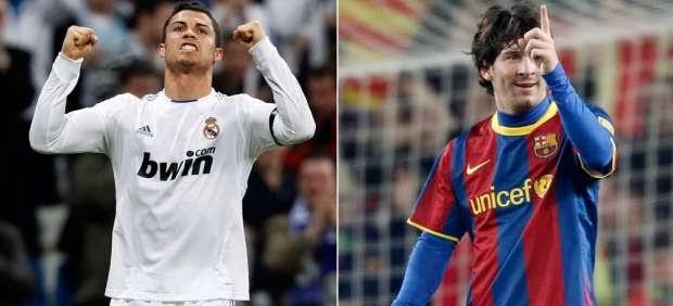 Dos grandes: Messi y CR, a ritmo de récord