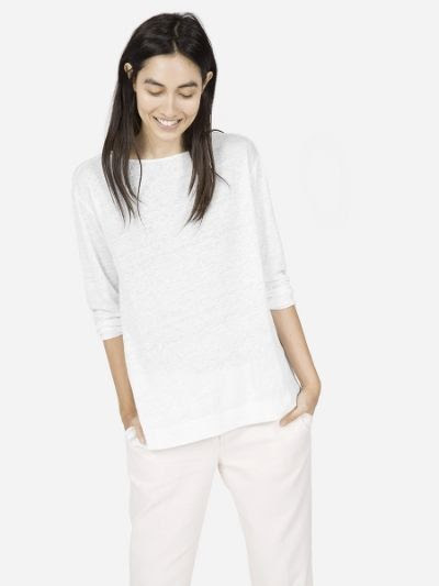 Everlane Linen Long Sleeve Tee