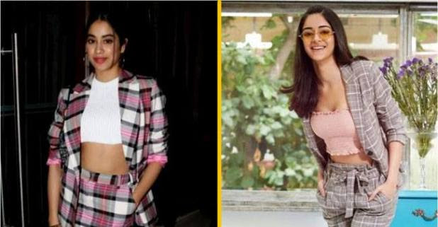 Which star kid wore it better? Ananya Panday or Janhvi Kapoor?