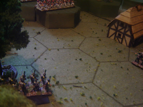 Skirmishing from the woods