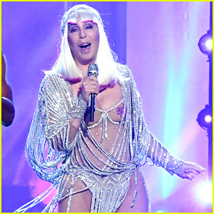 Cher 71 Wears Pasties Barely There Outfit At Bbmas Photos