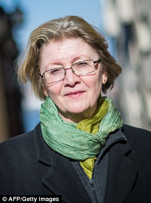 Curse: Stieg Larsson's partner Eva Gabrielsson says she put a Viking curse on those making money out of the late author