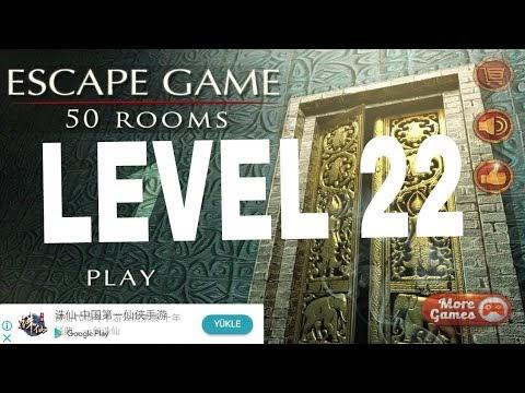 Escape Game 50 Rooms 1 Level 22 Walkthrough Doors Geek