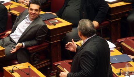 Βουλή: Βαρύτατα υ/β υπονοούμενα κατά Τσίπρα από Βενιζέλο