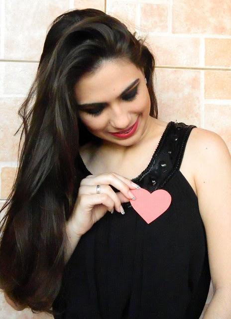juliana leite foto tutorial make up maquiagem preta com prata batom vermelho ou nude para a noite para festa2
