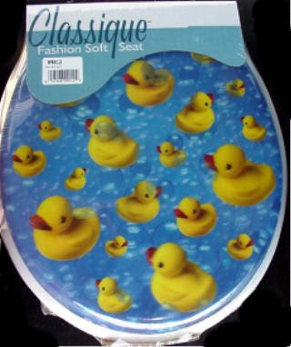 Potty Training 3 D Rubber Ducky Soft Cushion Toilet Seat