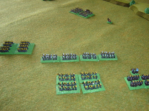 The Asano force wheels towards the remnants of the Kikkawa Clan