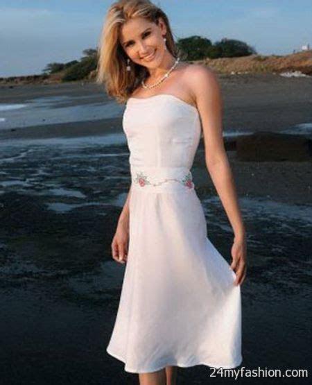 Short beach wedding dresses 2017 2018   B2B Fashion