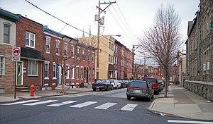 Berks Street in Fishtown in Philadelphia