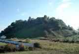 Королево - вид на замковую гору с северо-востока 2