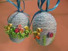 Quilled chick Eggs