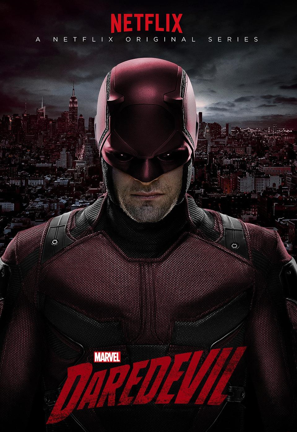 Poster for Daredevil Marvel series
