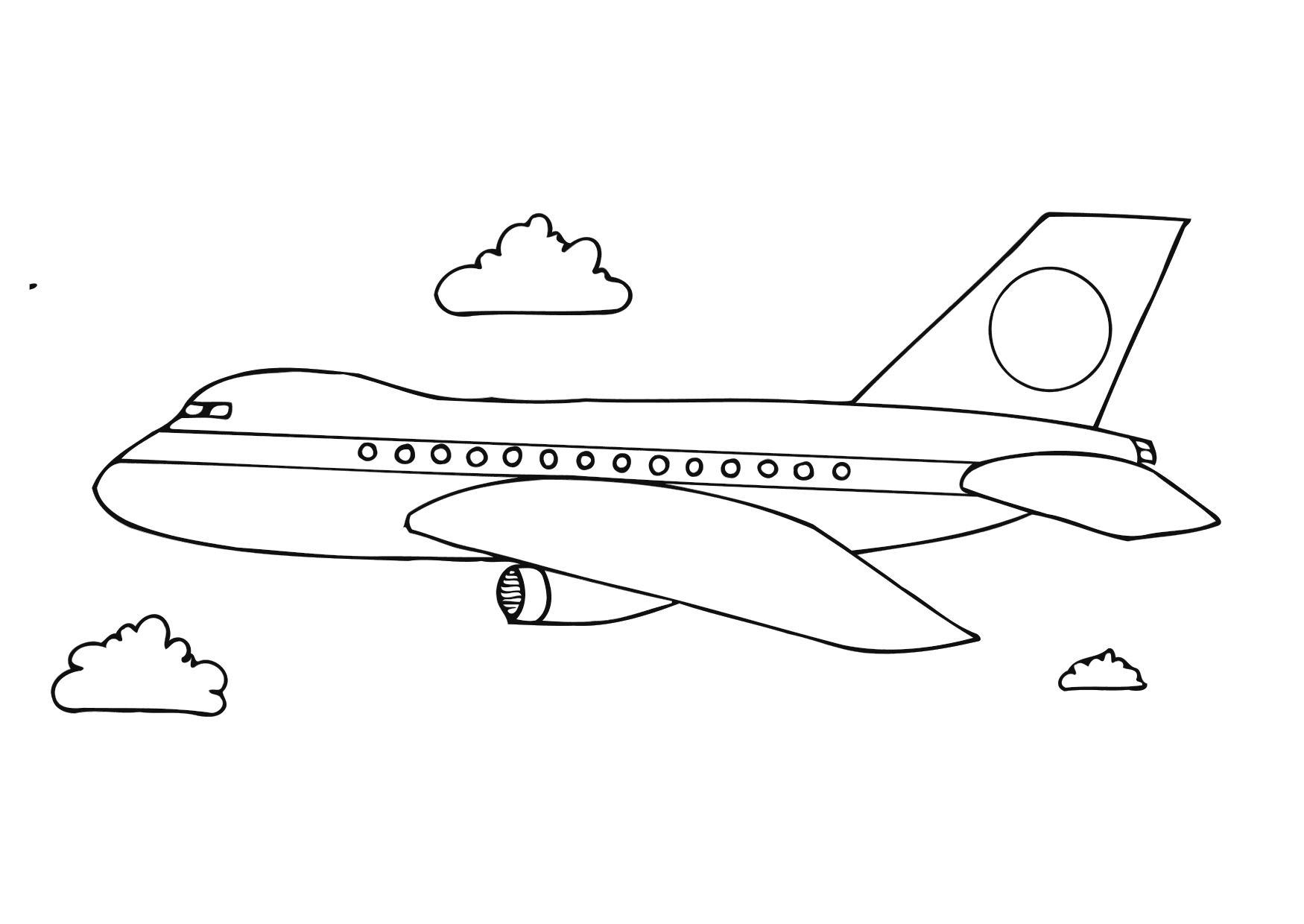 - Airplane Coloring Pages - Effy Moom