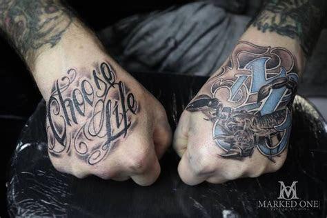 job stopper hand tattoos gav guest marked tattoo