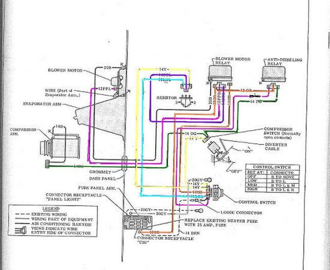 Ac Wiring Diagram 68 72 Factory The 1947 Present Chevrolet Gmc Truck Message Board Network
