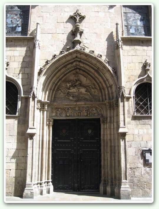 Església de Sant Jaume - Porta