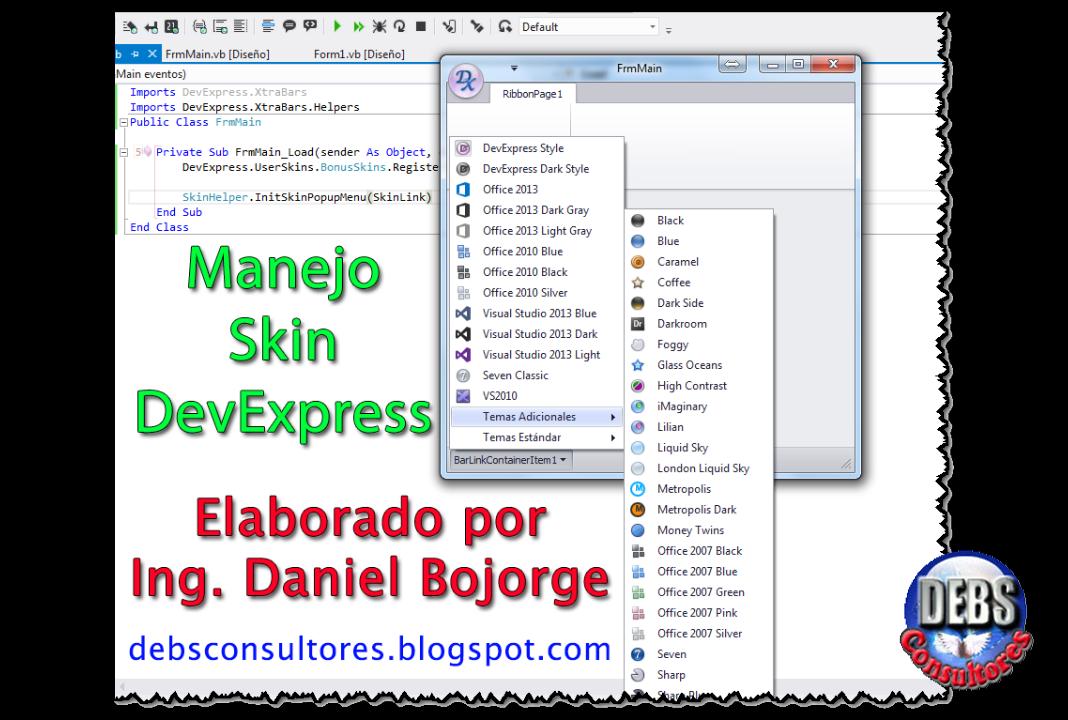 Uso Skin DevExpress - Google Groups