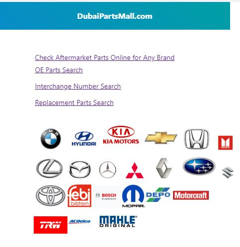 GM Chevrolet & ACDelco Car Spare Parts - Dubai & China