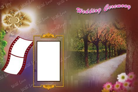 Wedding Karizma Album Background Design Psd 12x18   StudioPk