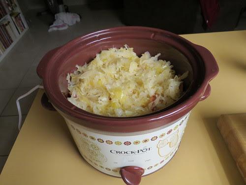 Simple Crock Pot Kielbasa