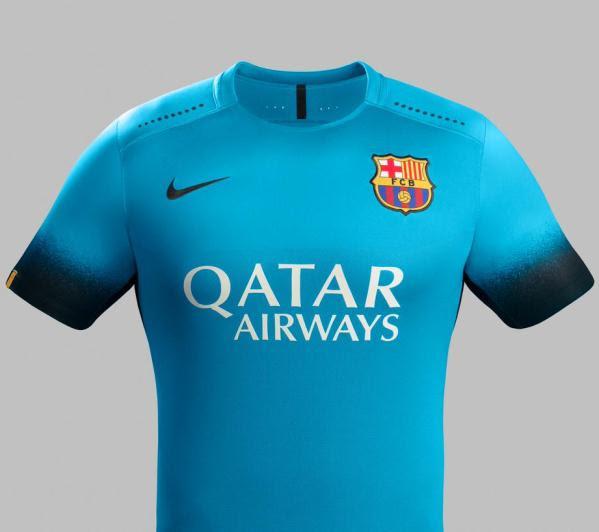Barcelona Blue Jersey 2015 16