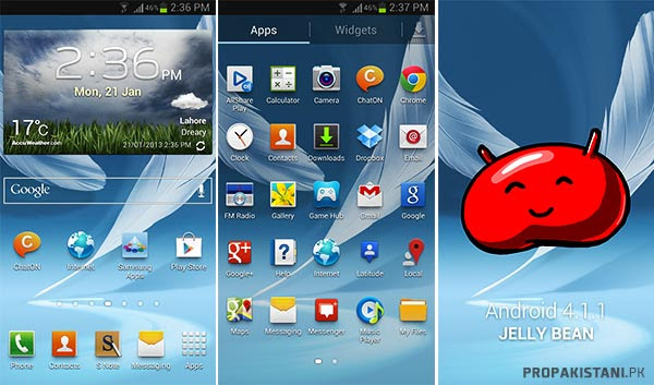 screen Samsung Galaxy Note 2   A Gigantic Beast [Review]